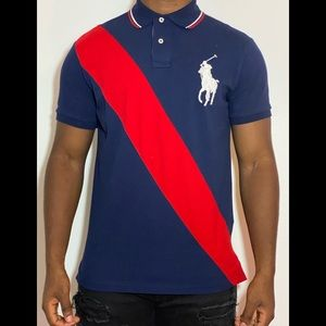 Collared polo shirt